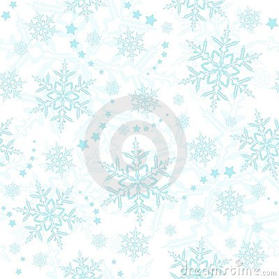 Seamless snowflakes, winter wallpaper