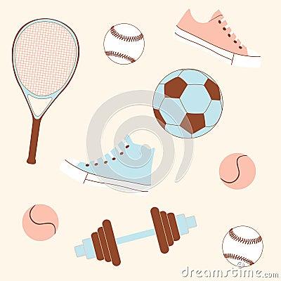 Seamless sporting goods