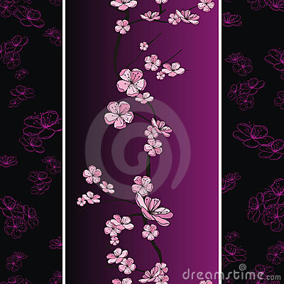 Seamless Spring Flower Pattern Stock Photos - Image: 21764223