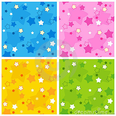 Free Seamless Star Pattern Stock Images - 17179094