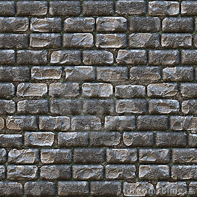Free Seamless Stone Brick Wall Stock Photo - 13028890