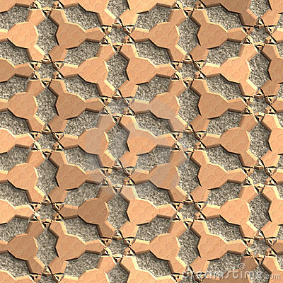 Seamless: Stone grate texture