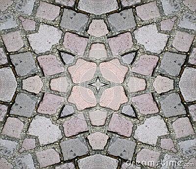 Seamless Stone Ground Texture Background