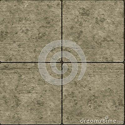 Seamless stone tiles
