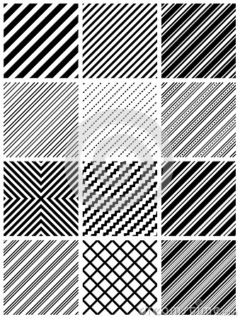Free Seamless Stripe Pattern Royalty Free Stock Photos - 25354818