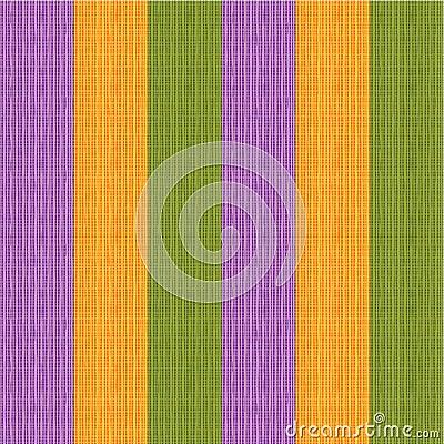 Seamless striped fabric
