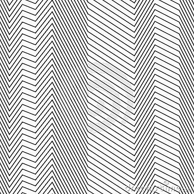 Free Seamless Strips Pattern Of Zig Zag Lines Stock Photo - 105235330