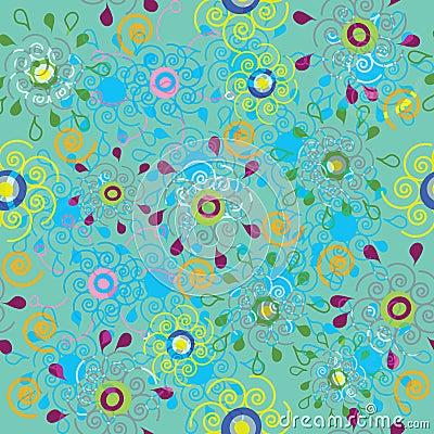 Seamless stylish and universal pattern