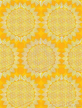 Seamless sun fabric