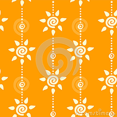 Seamless sunny background