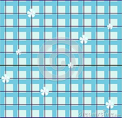 Seamless tablecloth pattern