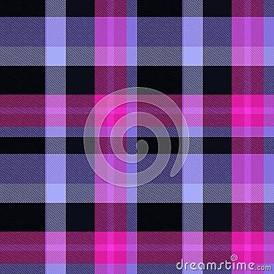 Seamless tartan pink background