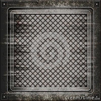 Seamless textur för räkningsmanhole