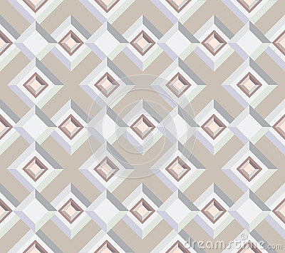 Seamless  texture from architectural motif