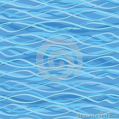 Seamless texture marine wave motif