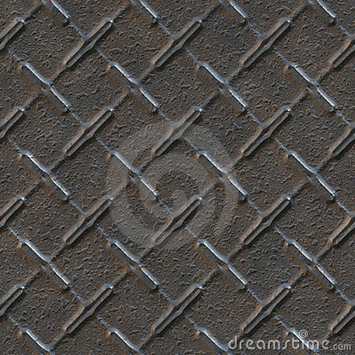 Seamless texture of metal