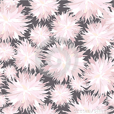 Seamless texture with white flowers