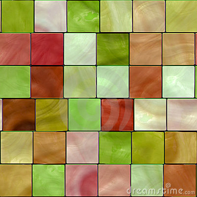 Seamless Tile Mosaic