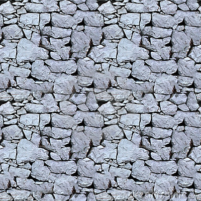 Free Seamless Tile Pattern Of A Stone Wall Royalty Free Stock Image - 8580316