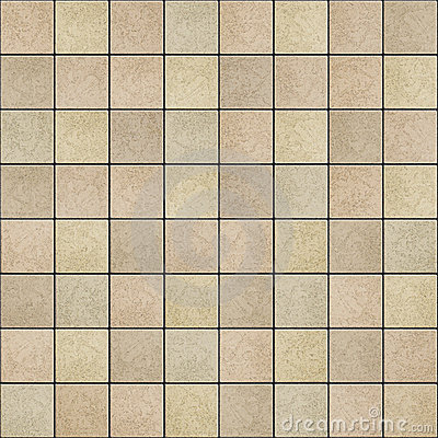 Seamless Tileable Texture Of Ceramic Tiles Floor Stock