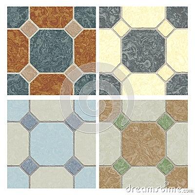 Seamless tiling floor textures
