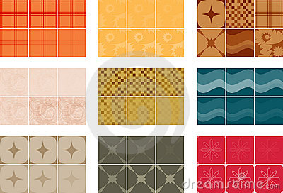 Seamless Tiling Vector Patterns I