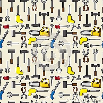 Seamless tool pattern