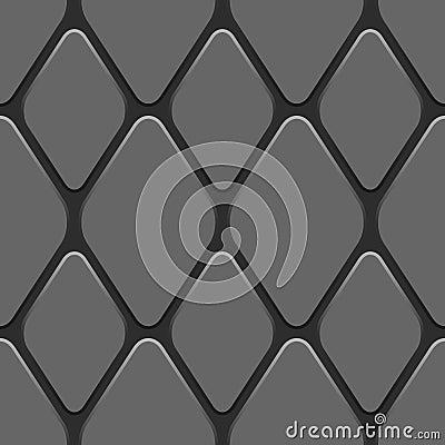 Seamless truck tyre pattern