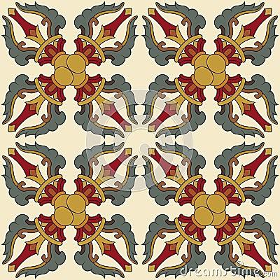 Seamless Vajra pattern