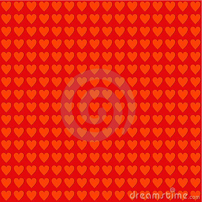 Seamless Valentine Day or romantic pattern
