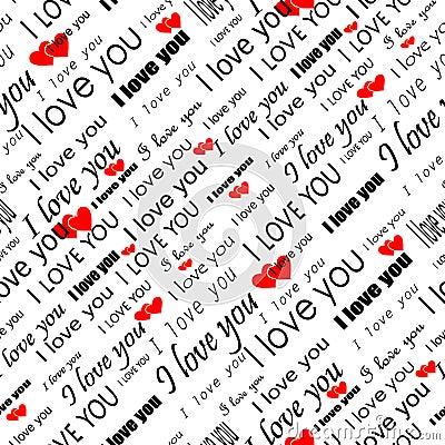 Seamless valentine wallpaper