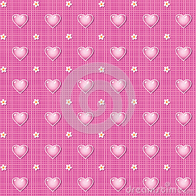 Seamless Valentines Day or wedding background
