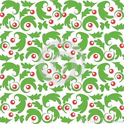 Free Seamless Vector Christmas Pattern Royalty Free Stock Images - 55414869
