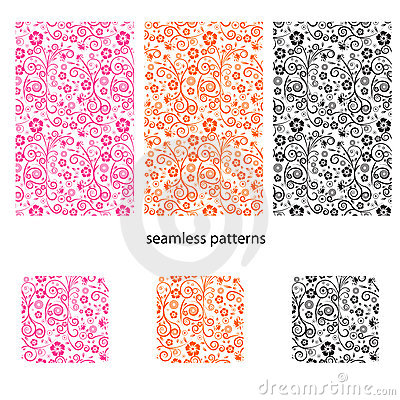 Free Seamless Vector Design Pattern Stock Images - 2713794