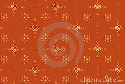Seamless vector geometrical texture with crosses
