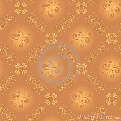 Seamless vector light beige texture with rhombuses