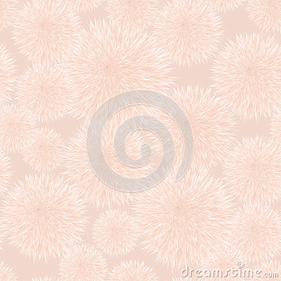 Free Seamless Vector Pattern With Fluffy Balls. Pompom Fur Background. Royalty Free Stock Photos - 97931048
