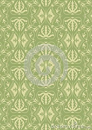 Vintage damask pattern