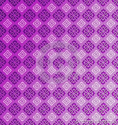 Seamless vintage pattern tile