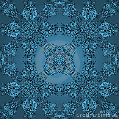 seamless vintage retro pattern