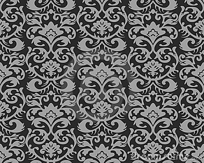 Royalty Free Wallpaper Pattern Royalty Free Stock