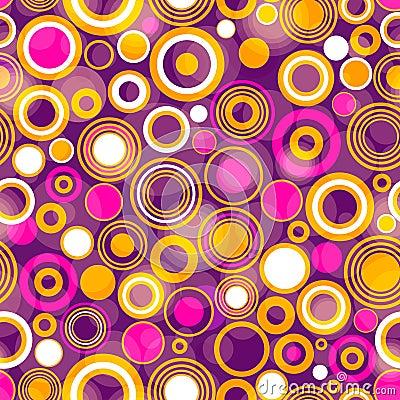 Free Seamless Violet Pattern Stock Image - 33380201