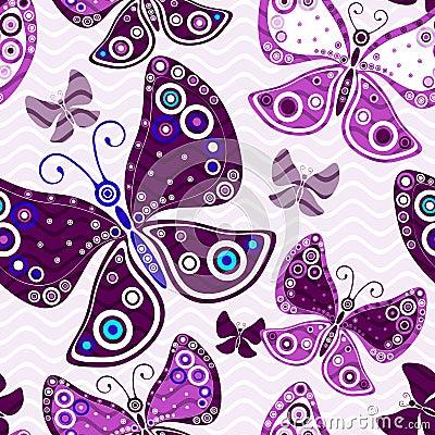Free Seamless Vivid Pink-violet Pattern Royalty Free Stock Photos - 76639708