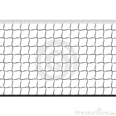 Free Seamless Volleyball Net Royalty Free Stock Photos - 20078908