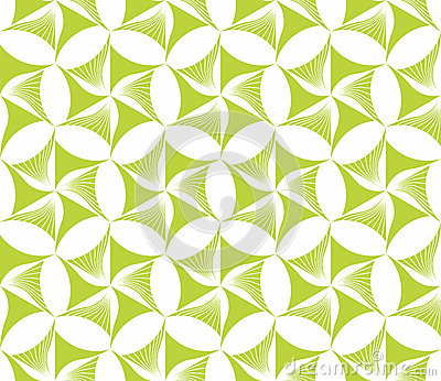 Seamless wall-paper with green flowers