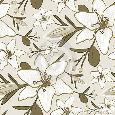 Free Seamless Wallpaper Pattern Royalty Free Stock Photography - 1585967
