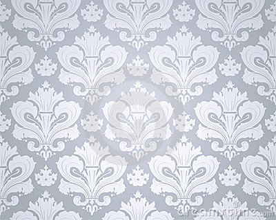 Seamless Wallpaper Pattern Royalty Free Stock Images - Image: 17473449