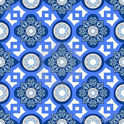Free Seamless Wallpaper Pattern Royalty Free Stock Photography - 6591247