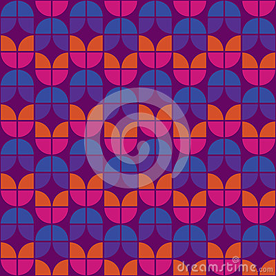 Seamless Warm Retro Pattern