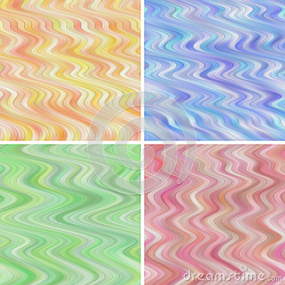 Seamless Wavy Backgrounds